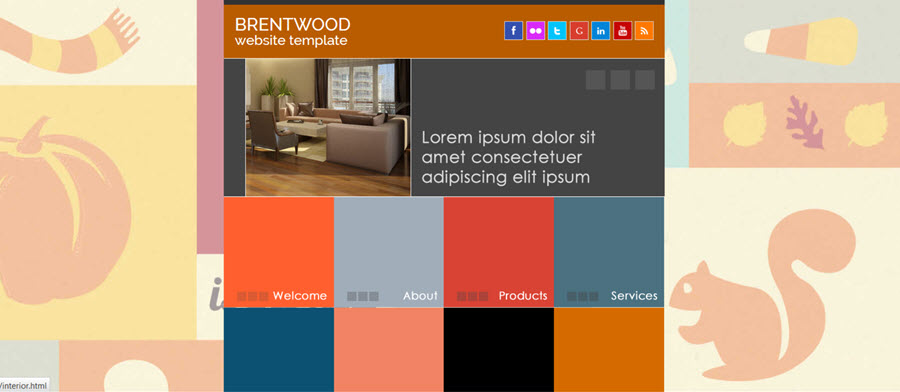 Web Template - Brentwood