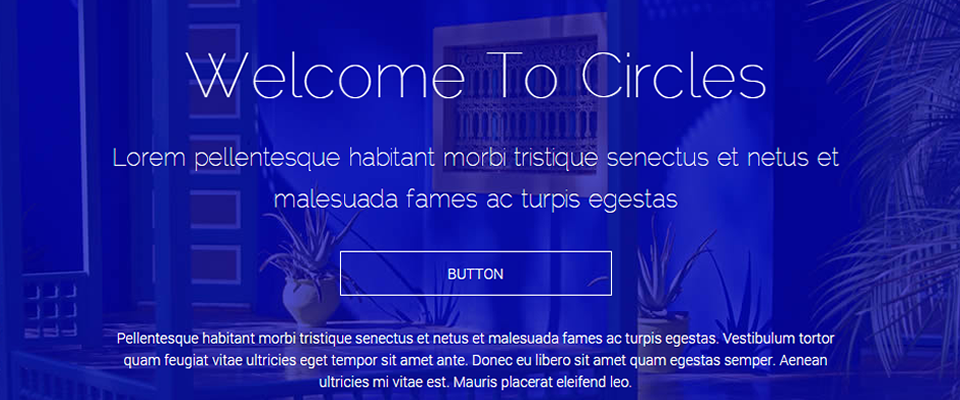 Circles - Web Template