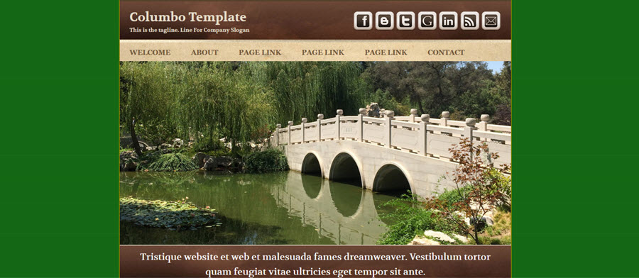 Web Template - Columbo