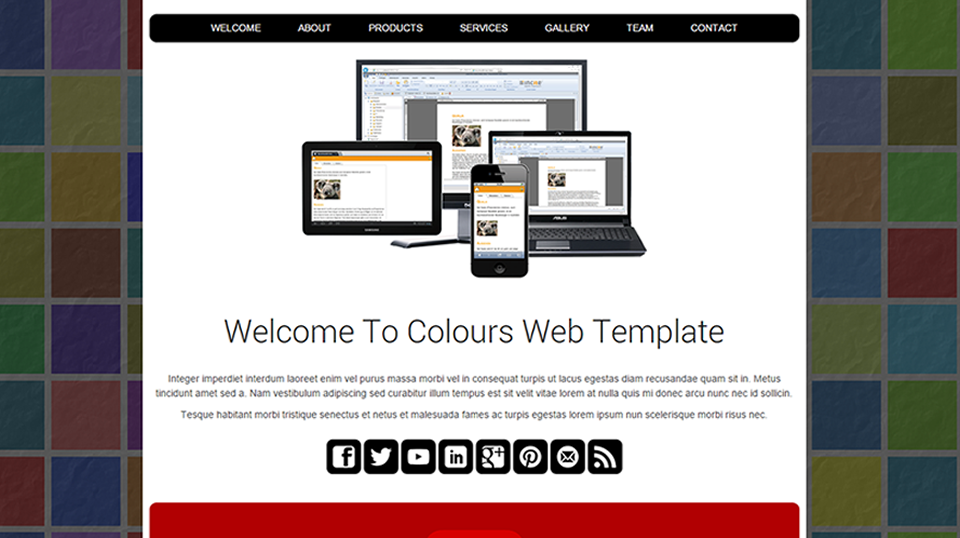 colours - Web Template