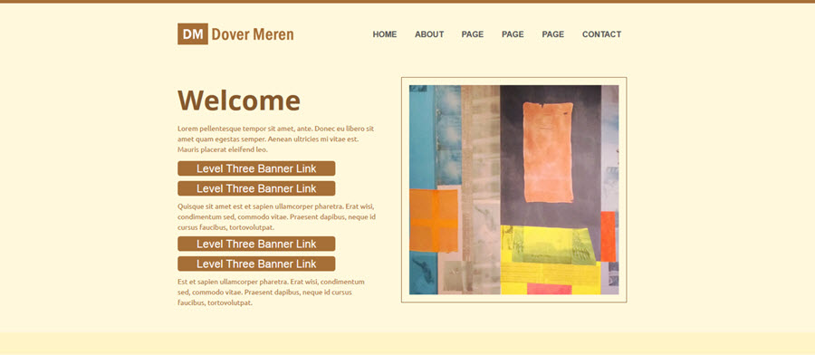Web Template - Dover