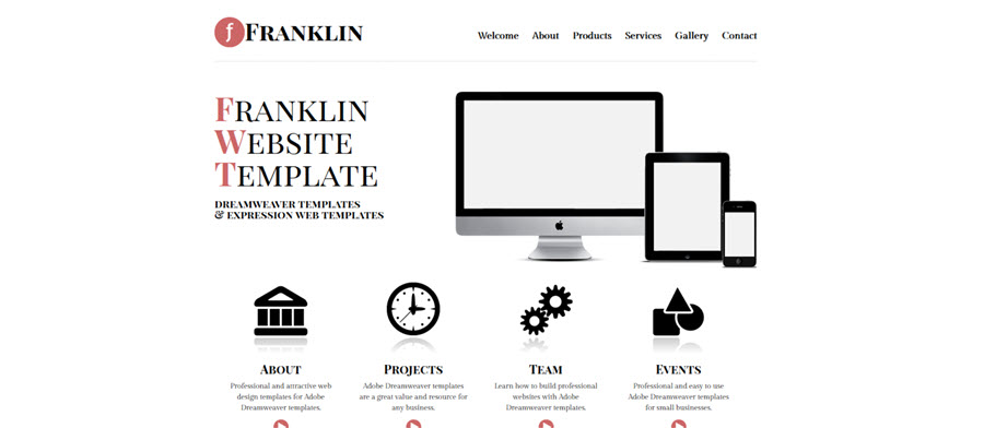 Web Template - Franklin