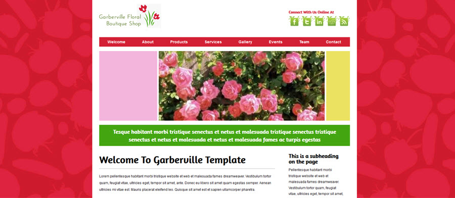 Web Template - Garberville