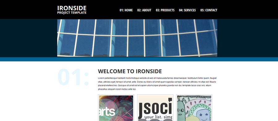Web Template - Ironside