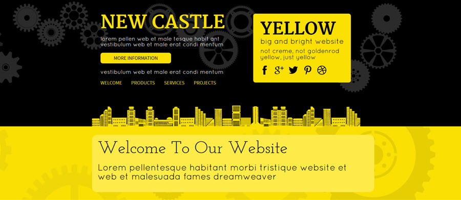 Web Template - Newcastle