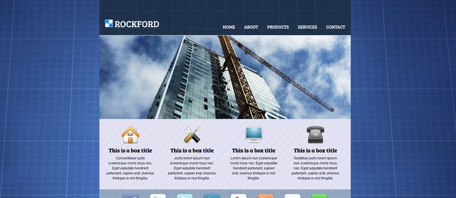 Web Template - Rockford