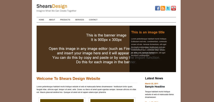Web Template - Shears