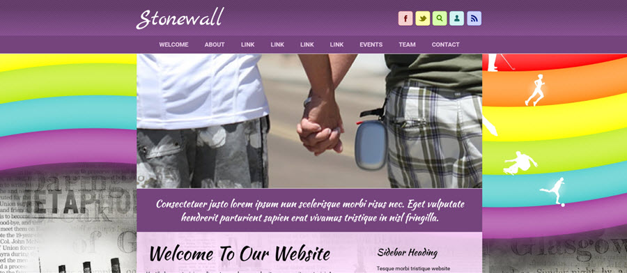 Web Template - Stonewall